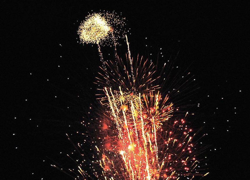 Shoban News Photo Treaty Day Fireworks A