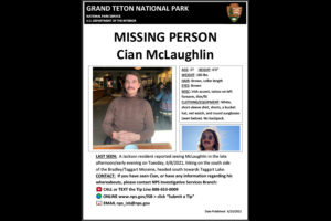 Missing person poster for Cian McLaughlin