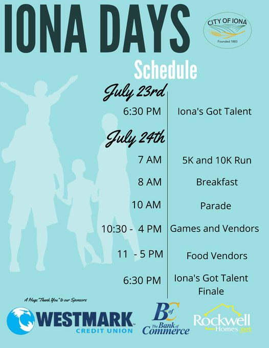 iona days poster