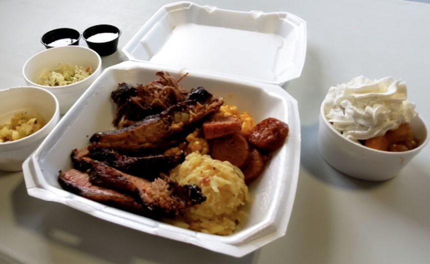 Blackhawk BBQ Pit, sampler plate