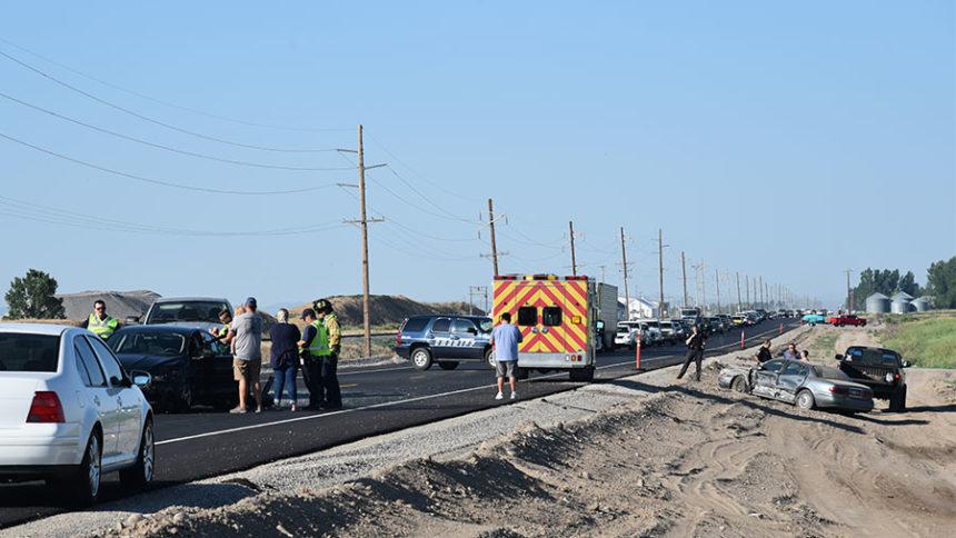 Crash on highway 91 Tuesday July 6