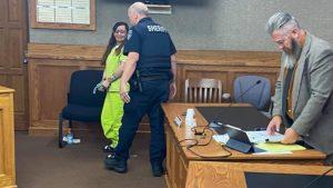 Sasha Martinez cries at sentencing