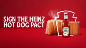 Heinz hot dog pact
