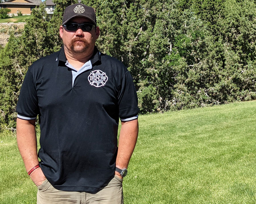Andy Moldenhauer: president of the Pocatello Firefighters Union