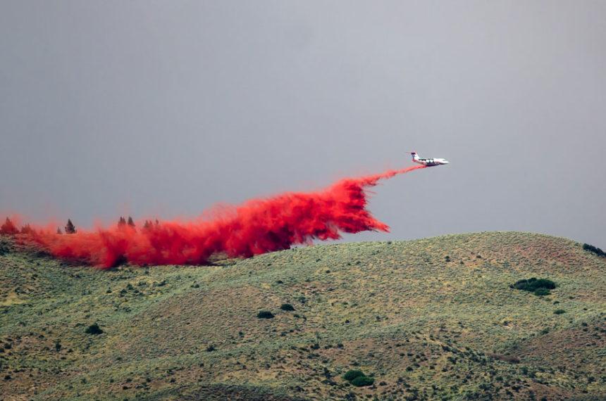 Wildfire Airplane