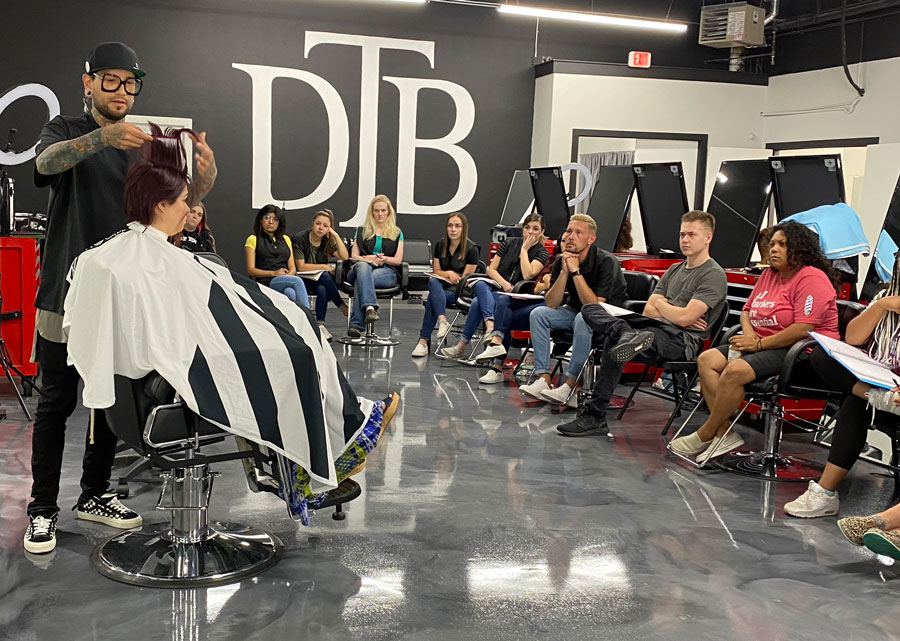 downtown barber school pic