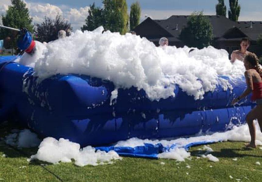 foam pit party