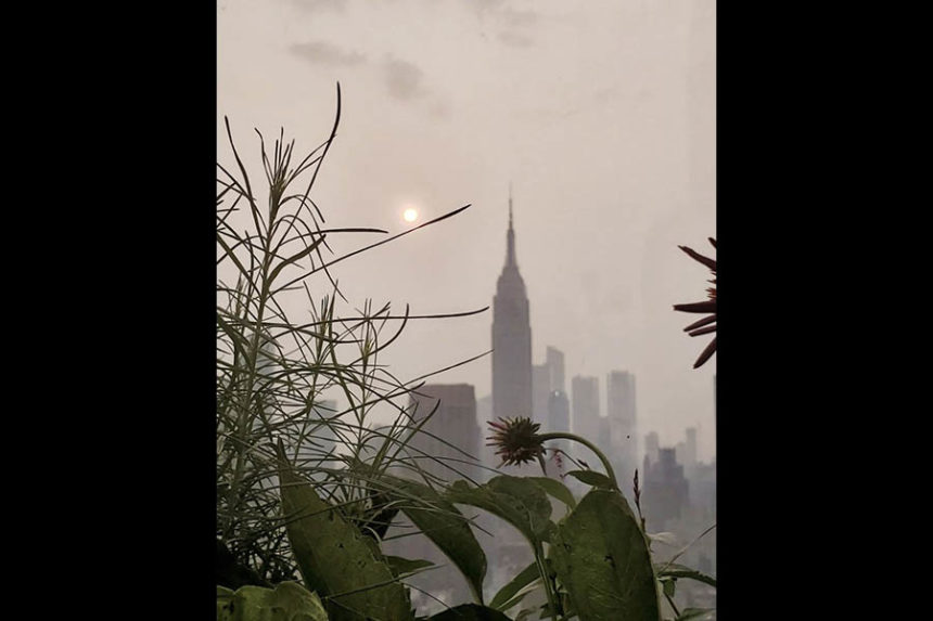 Smoke in New York City
