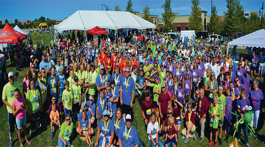 Dash for Down syndrome group pic