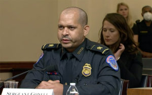 Officer Gonell at Capitol riot hearing