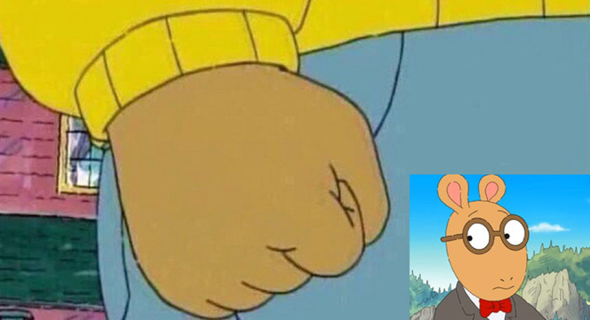 arthur fist meme1