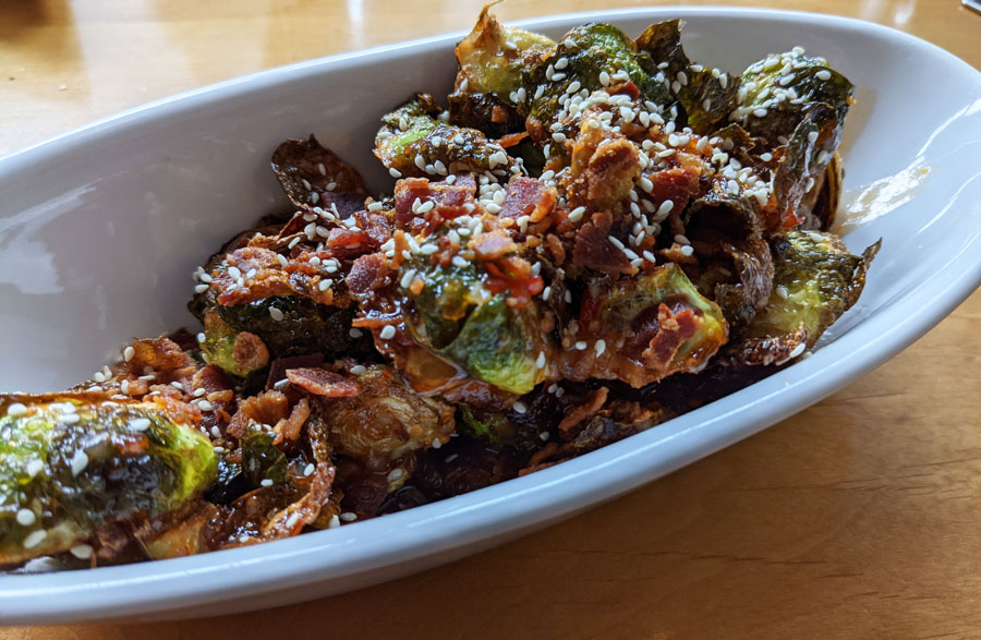 Brussels sprouts from Yellowstone Restaurant