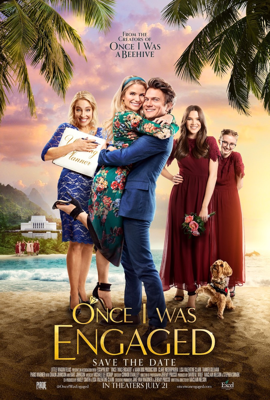 Once I was Engaged poster