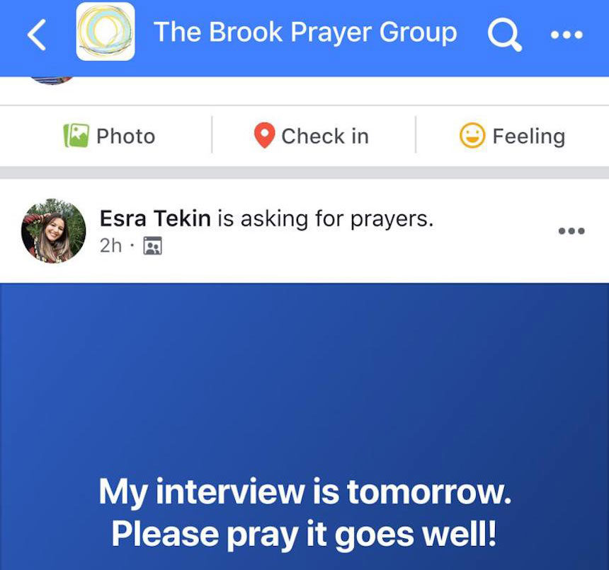 FB prayer group