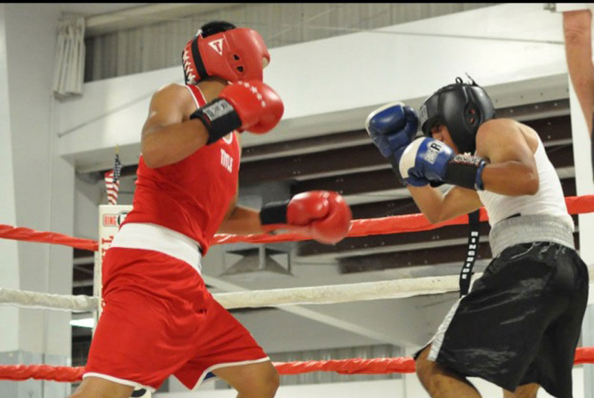 gordo sparring