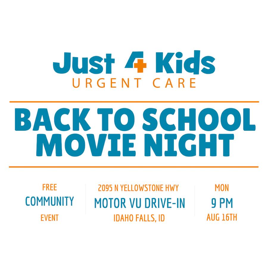 Insta Back to School Movie Night