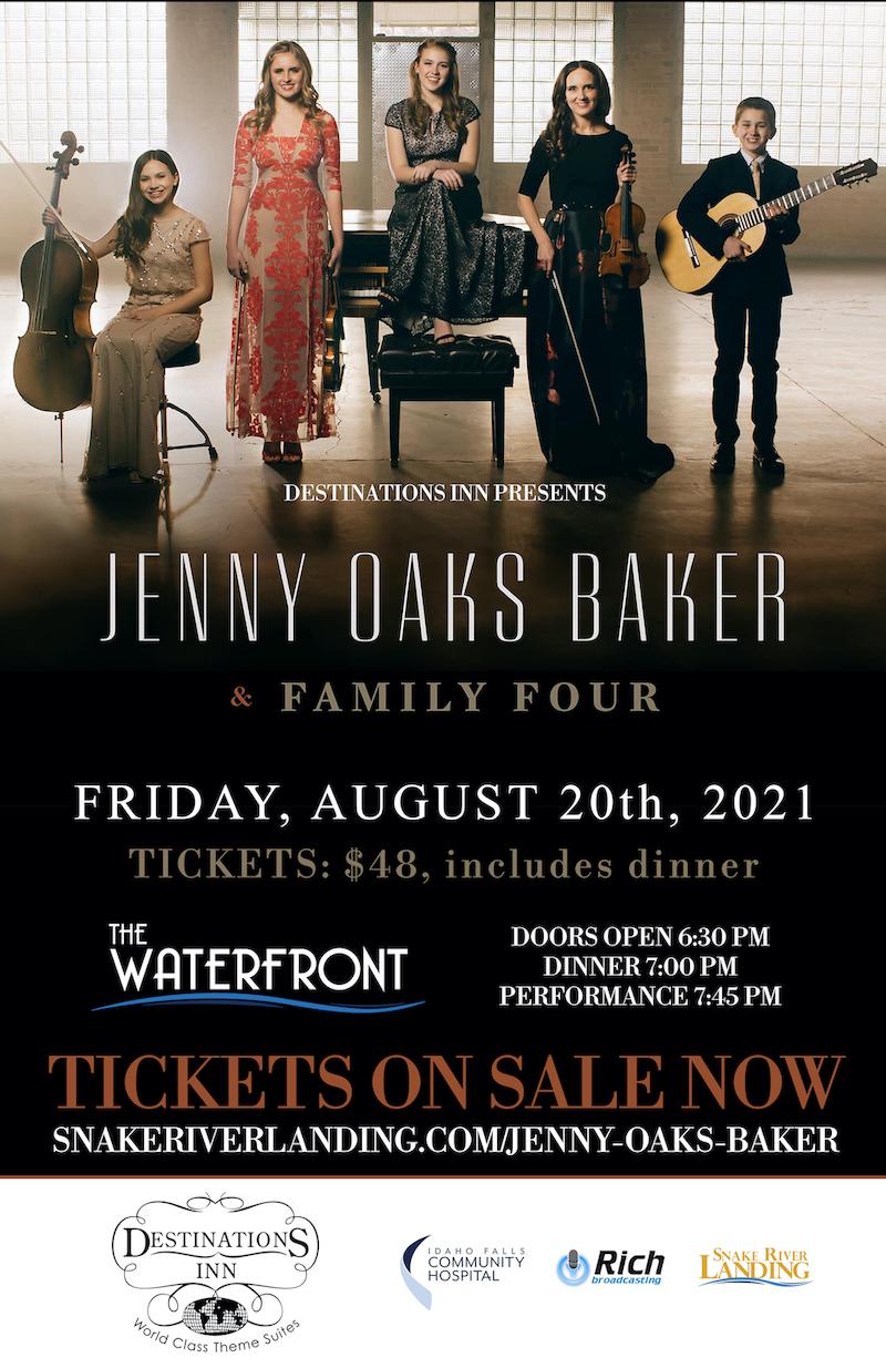 Jenny Oaks Baker Idaho Falls August 20 2021 Event Poster2