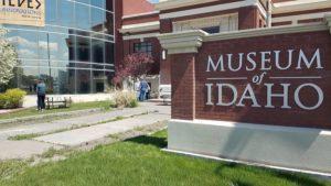 Outside Museum of Idaho