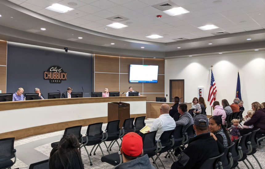 Chubbuck City Council unanimously approves a budget plan for 2022 fiscal year