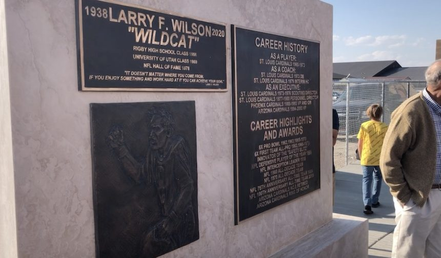 larry wilson monument