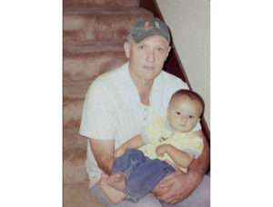 Stanley Young with his grandson, taken shortly before his death