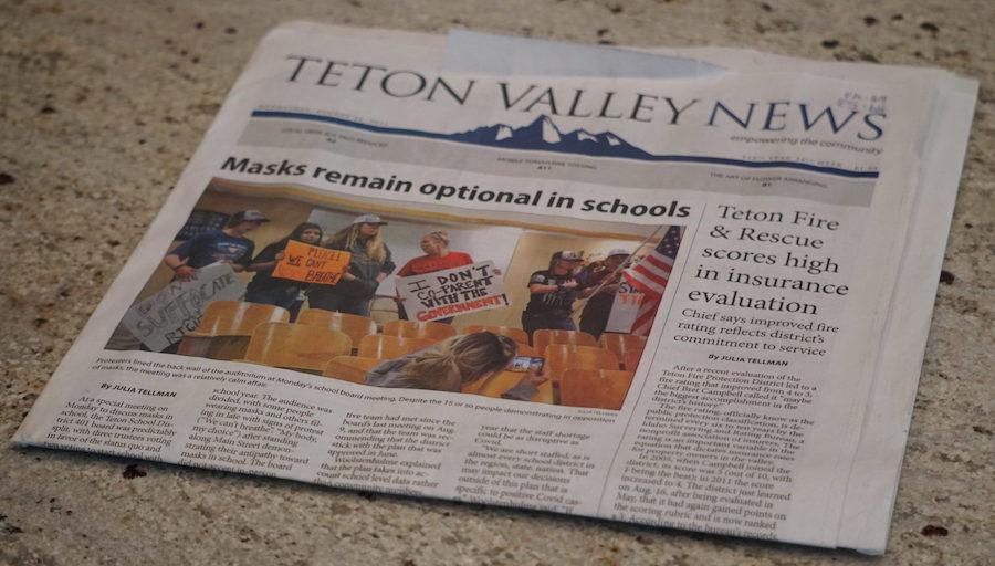 teton valley news headline