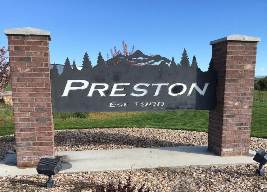 Preston city