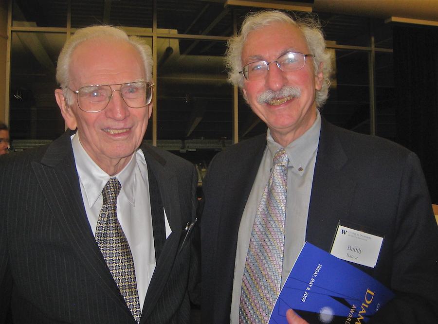 Wayne Quinton and Buddy Ratner 2009.