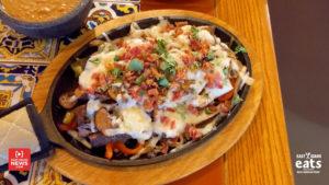 Smothered fajitas from Garcia's in Pocatello