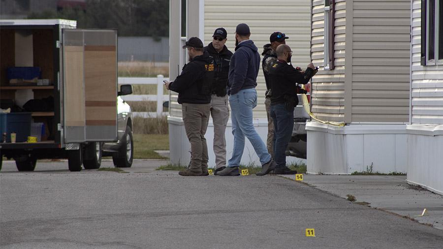 Deputies at scene