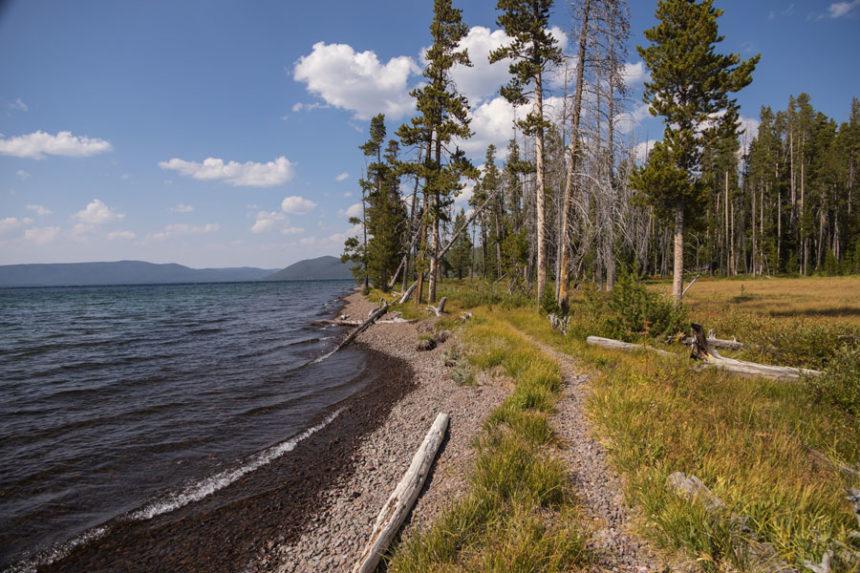 Shoshone Lake Yellowstone