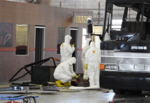 ISU disaster training body