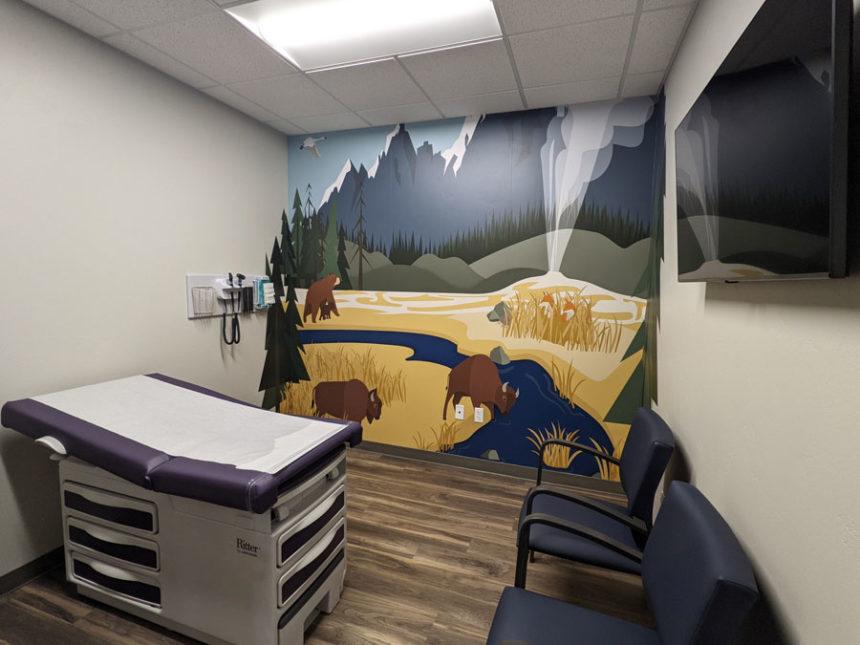 Just 4 Kids Yellowstone exam room