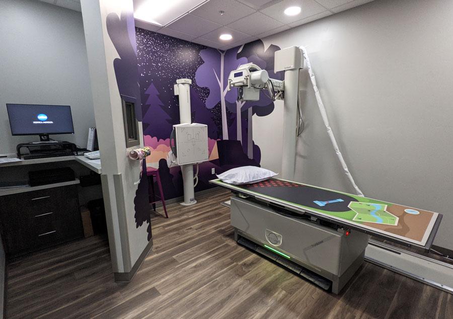 Just 4 Kids x-ray lab