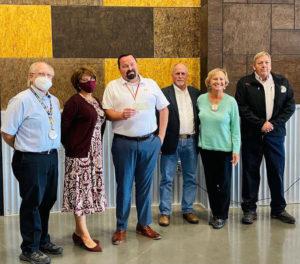 Rotary Club presents check to city