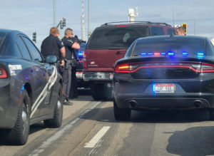 Idaho State Police arrest a woman that led a chase from Pocatello to Idaho Falls