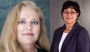 Linda Leeuwrik (left) and Lydia Noble, Pocatello City Council seat No. 5 candidates